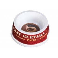 """Madskål til katte """"Chat Guevara"""""""