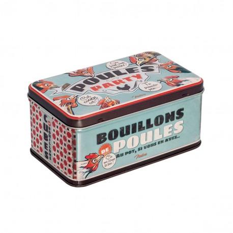Metaldåse til bouillonterninger