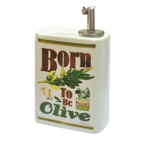 "Olieflaske ""Born to be olive"""