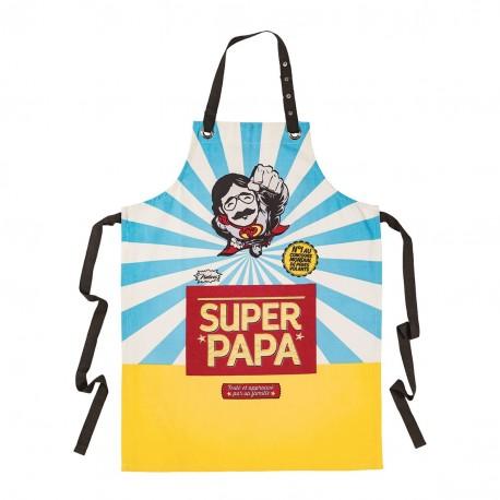 """Forklæde - """"Super papa"""""""