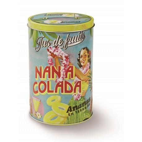 "Rund dåse - ""Nana Colada"" - stor"