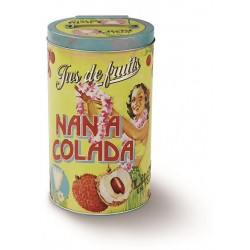 "Rund dåse - ""Nana Colada"" - mellem"