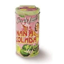 "Rund dåse - ""Nana Colada"" - lille"
