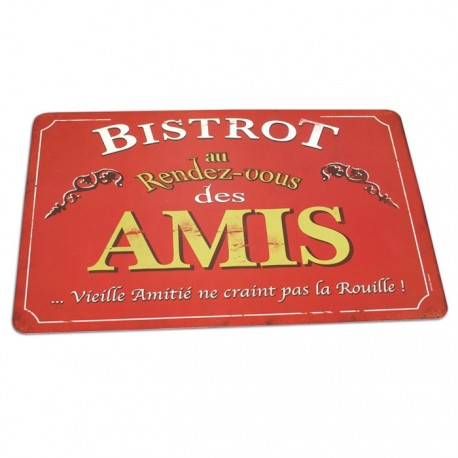 """Dækkeserviet - """"Bistrot des Amis"""""""