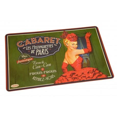 """Dækkeserviet - """"Cabaret de Paris"""""""