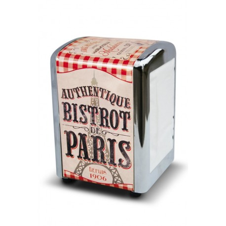 "Servietdispenser ""Bistrot de Paris"""