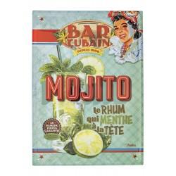 """Metalskilt - """"Mojito"""" - A3"""