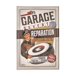 "Metalskilt - ""Réparation express"" - A4"