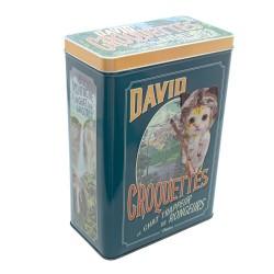 """Opbevaringsdåse til kattemad - """"David Croquette"""""""