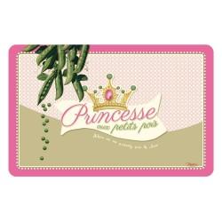 """Dækkeserviet - """"Princesse aux petits pois"""""""