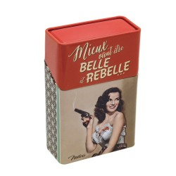 "Cigaretetui - ""Belle et rebelle"""