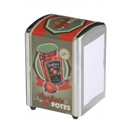 """Servietdispenser - """"Confiote des potes"""""""