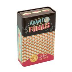 "Cigaretetui - ""Avant je fumais"""