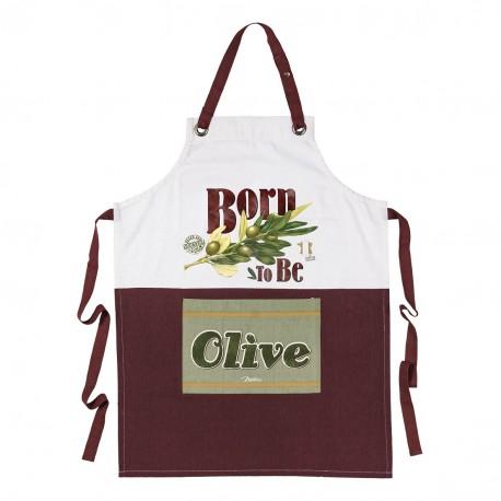 """Forklæde - """"Born to be Olive"""""""