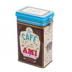 "Kaffedåse med patentlåg - ""Ton ami"""