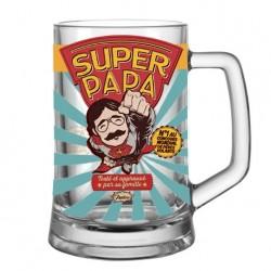 """Ølkrus - """"Super papa"""""""