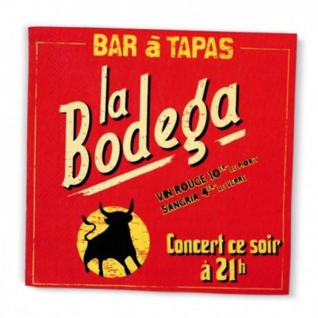 """Servietter """"Bodega"""""""