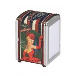 "Servietdispenser - ""Cabaret de Paris"""