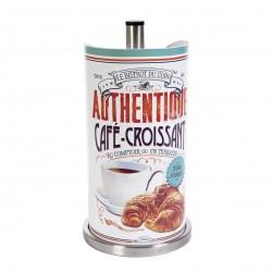 """Køkkenrulleholder - """"Café croissant"""""""