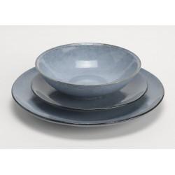 "Middagstallerken - ""Blue Mist"""