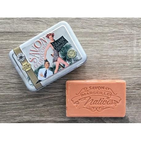 Savon de Marseille - jasmin/orangeblomst - 100 g fast håndsæbe