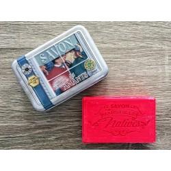 Savon de Marseille - bergamotte/cedertræ - 100 g fast håndsæbe