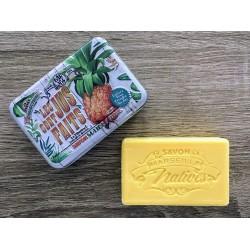 Savon de Marseille - ananas - 100 g fast håndsæbe