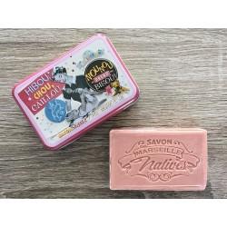 Savon de Marseille - smør og mælk - 100 g fast håndsæbe