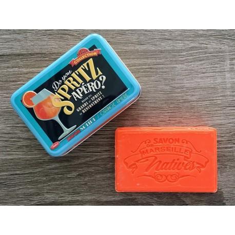 Savon de Marseille - bitter orange - 100 g fast håndsæbe