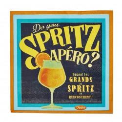 """Servietter - """"Spritz"""" - 20 stk."""