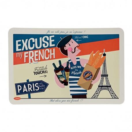 "Dækkeserviet - ""Excuse my French"""
