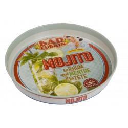 "Rund metalbakke ""Mojito"""