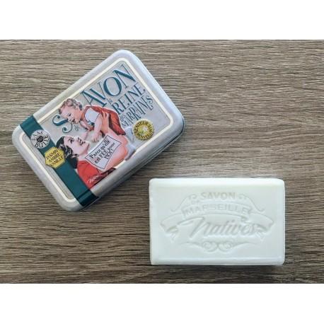 Savon de Marseille - jasmin/rav/vanilje - 100 g fast håndsæbe