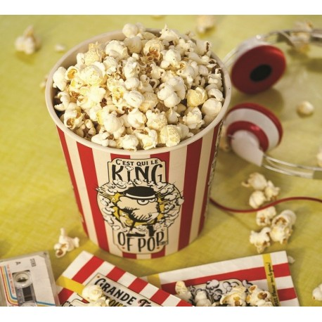 Popcornspand + servietter