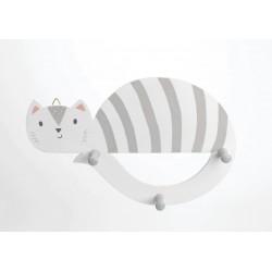 Knagerække - kat