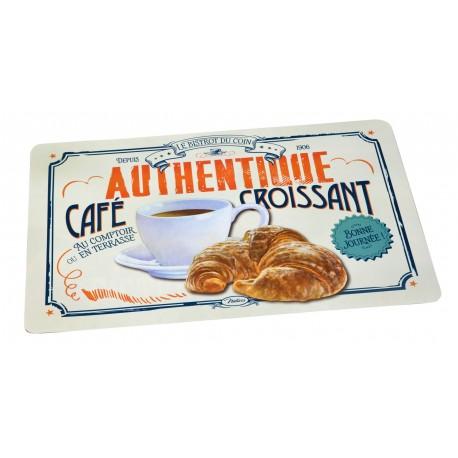 """Dækkeserviet """"Café croissant"""""""