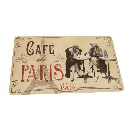 """Dækkeserviet """"Café de Paris"""""""