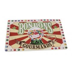 """Dækkeserviet """"Bonbons gourmands"""""""