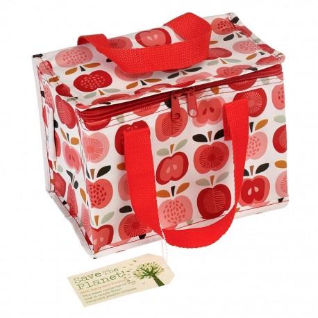 Køletaske - madpakkestørrelse - Vintage Apple