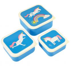 Snackbokse - Magical Unicorn + 3 stk.