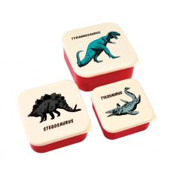 Snackbokse - Prehistoric Land + 3 stk.