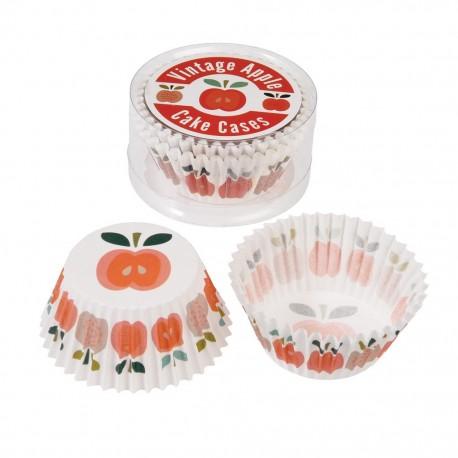 Muffinsforme - Vintage Apple