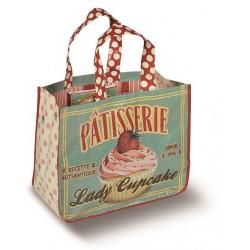 """Indkøbspose """"Lady Cupcake"""""""