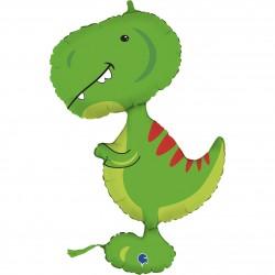 Folieballon, dinosaur - 86 cm