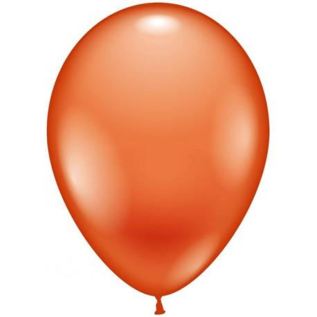 Balloner, orange - Ø 28-30 cm - 10 stk.