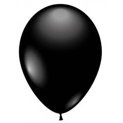Balloner, sort - Ø 28-30 cm - 10 stk.