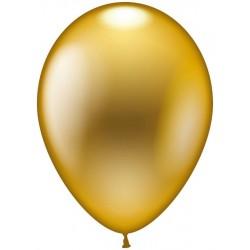 Balloner, guld metallic - Ø 28-30 cm - 10 stk.