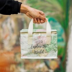 Køletaske - madpakkestørrelse - World Explorer
