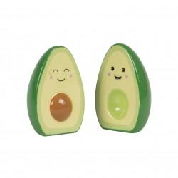 Salt- og pebersæt - Happy Avocado