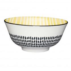 Skål - Moroccan Style Yellow Stripe